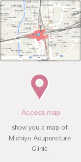 Access map show you a map of Michiyo Acupuncture Clinic